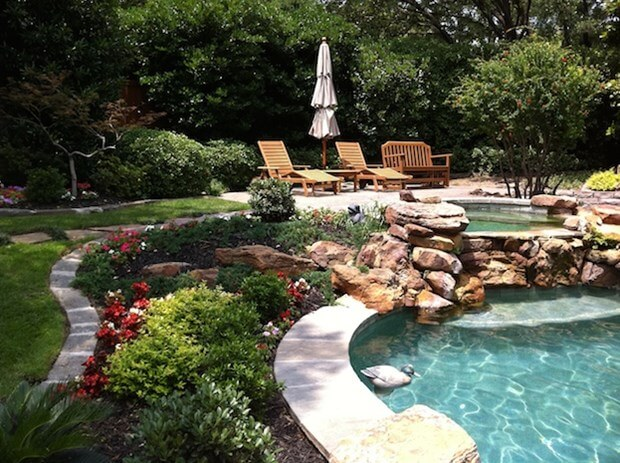 Pool Landscaping Tips   5 Ideas to Increase Appeal on Backyard Pool And Landscaping Ideas id=88442
