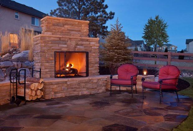 Backyard Fireplace Ideas | Backyard Fireplace on Fireplace In Yard id=96465