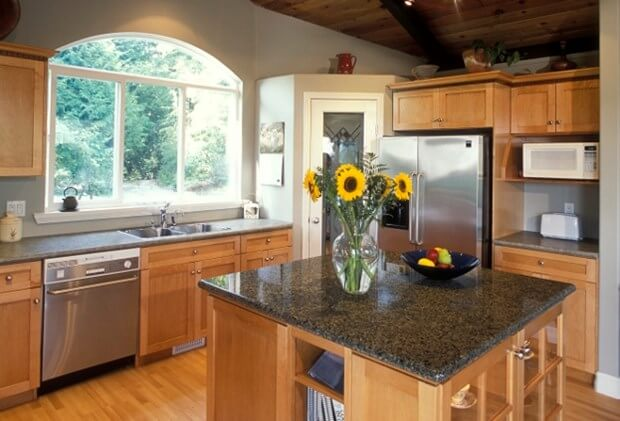 How To Decorate A Kitchen Counter | Kitchen Countertops on Counter Decor  id=73791