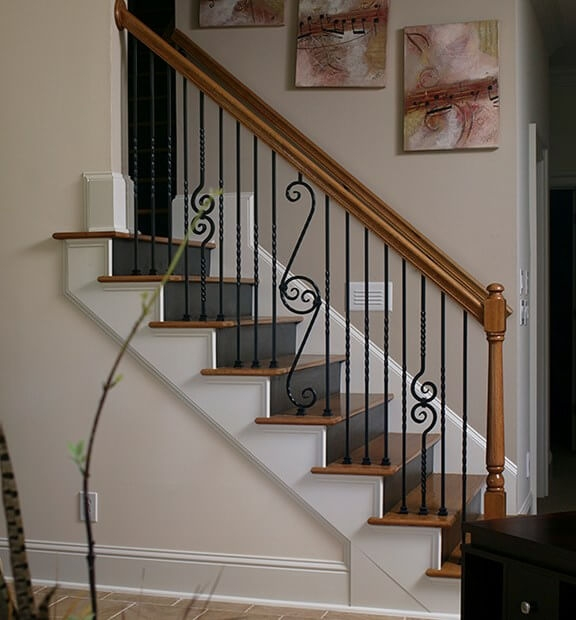 How To Paint Stairs Painting Stairs Diy Painting   Best Wood For Indoor Stairs   Laminate Flooring   Stair Parts   Glass   Stair Risers   Anti Slip