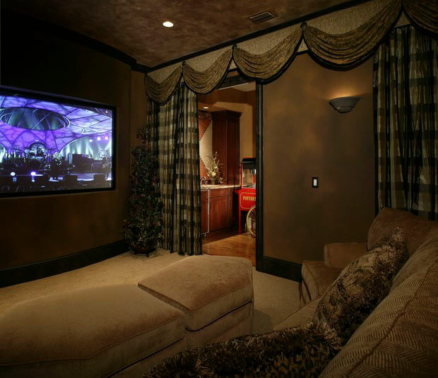 ultimate basement home theater