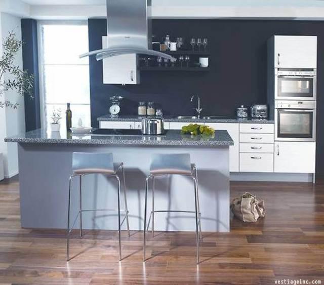 Dark Kitchen Walls 2018 Trends