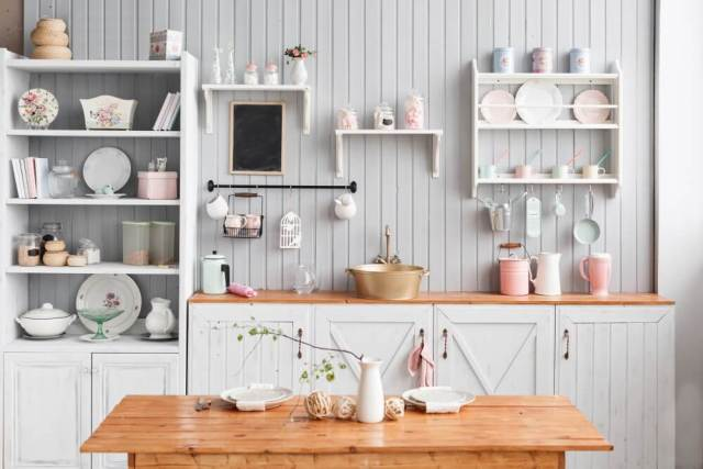 Open Shelving 2018 Kitchen Trends