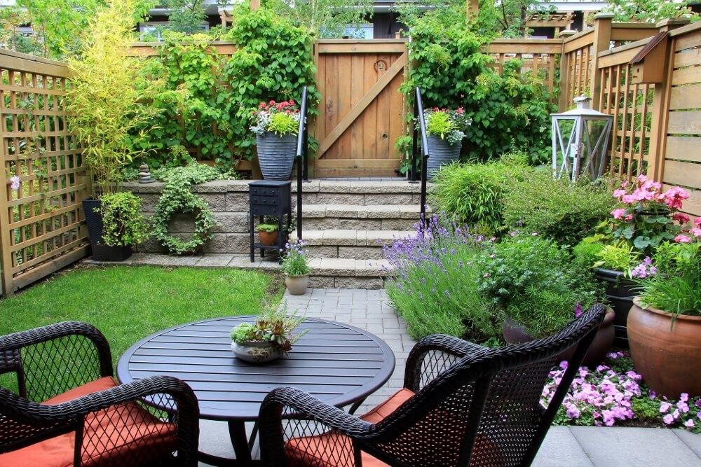 small patio furniture