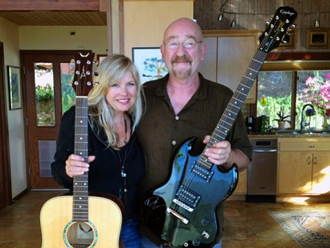 <strong>MUSIC AS HEALER: </strong> JAMS founder Nancy Earle works with rock luminaries, such as Dave Mason from Traffic, who together promote the healing powers of music education.