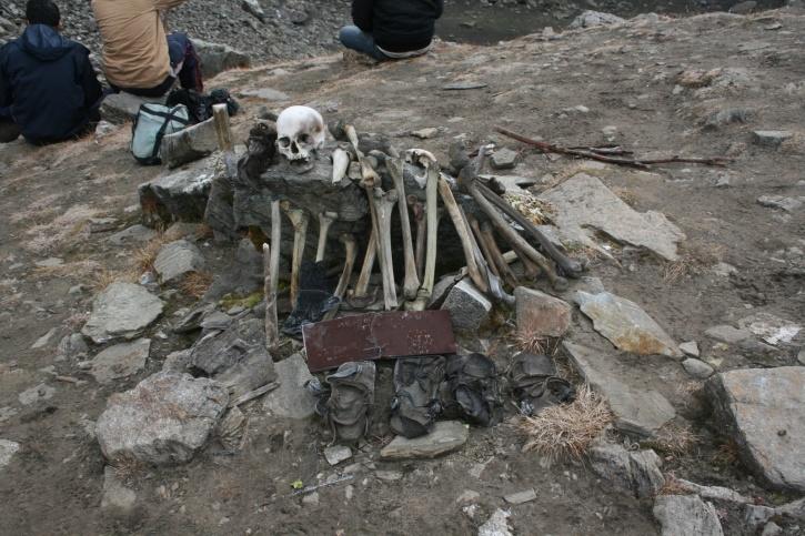 roopkund skeleton