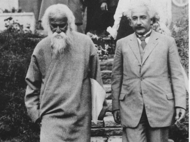 Tagore and Einstein