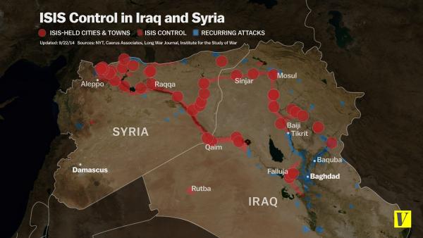 ISIS control Iraq