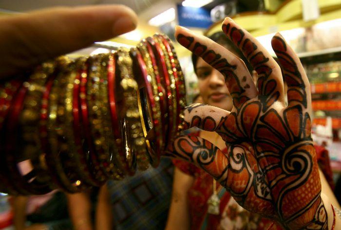 Henna and bangles