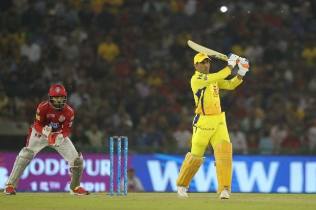MS Dhoni made 79 not out in 44 balls
