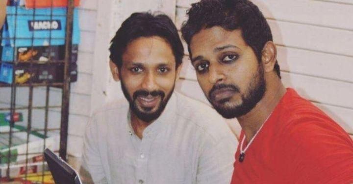 Shahnawaz Shaikh and Zakir Khan