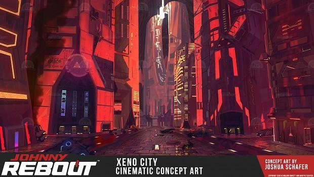 Xeno Concept Art