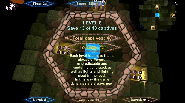 Unlimited escape - beta screenshot