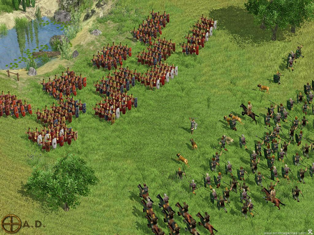 Clash In The Po River Valley Image