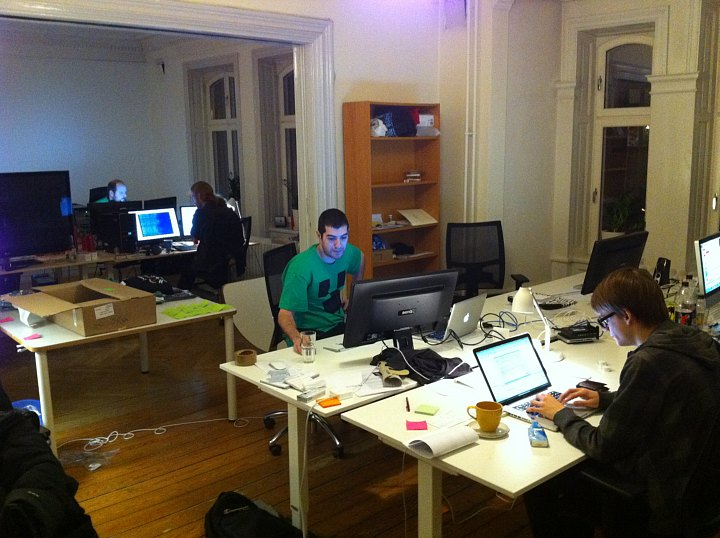 Mojang HQ In The Making Image Minecraft Indie DB