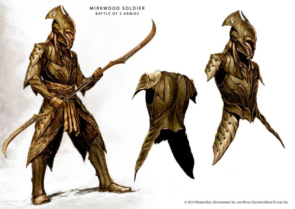 Mirkwood Soldier Heavy Armor Concept Image