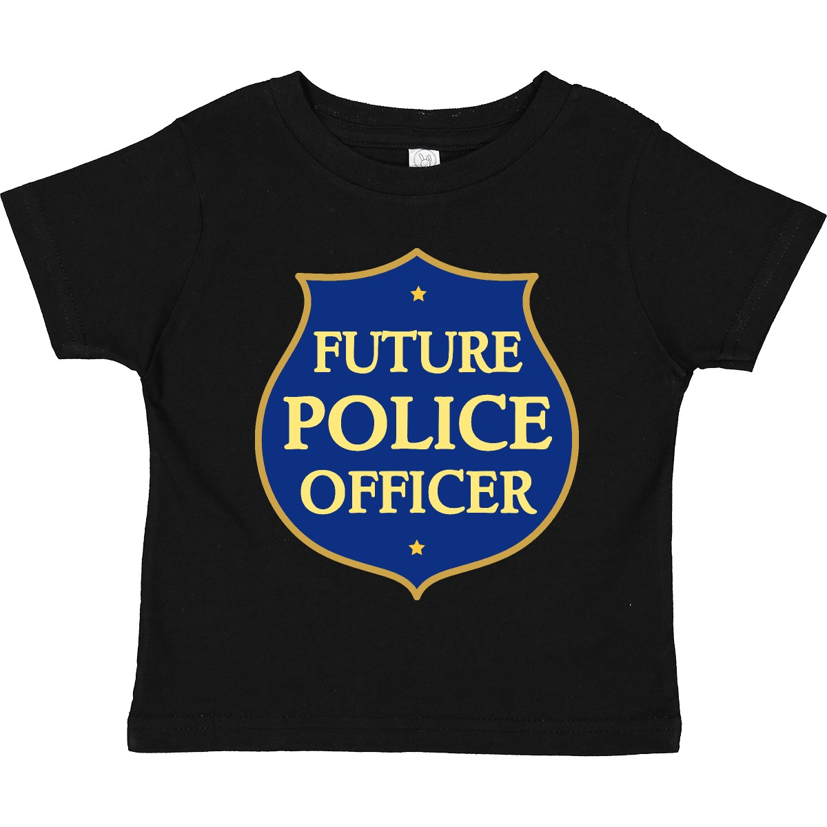 Inktastic Cute Future Police Officer Toddler T Shirt