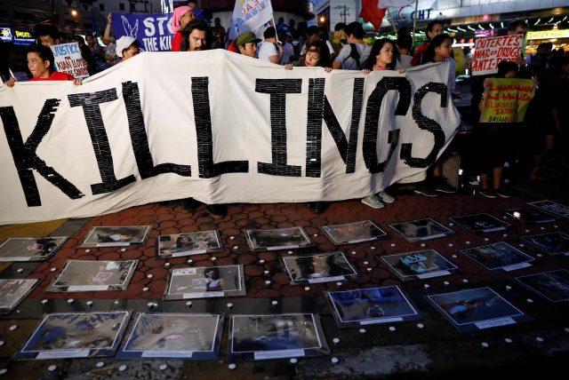 Anti killings rally