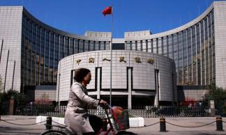 La sede della Banca popolare cinese, la banca centrale cinese, il 12 agosto.  - Petar Kujundzic, Reuters/Contrasto