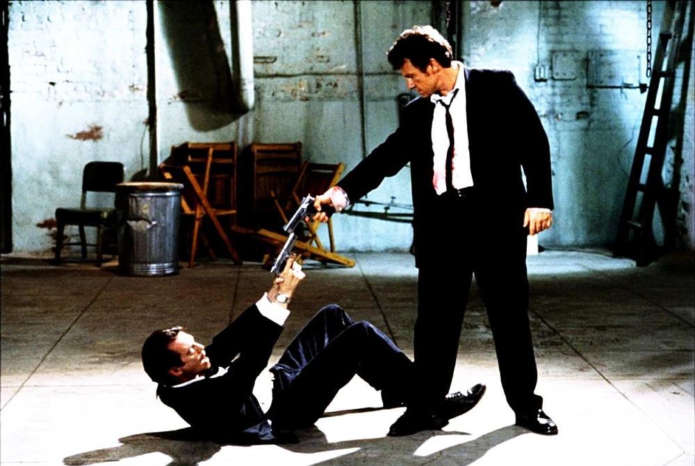 Una scena del film Le iene di Quentin Tarantino.  -