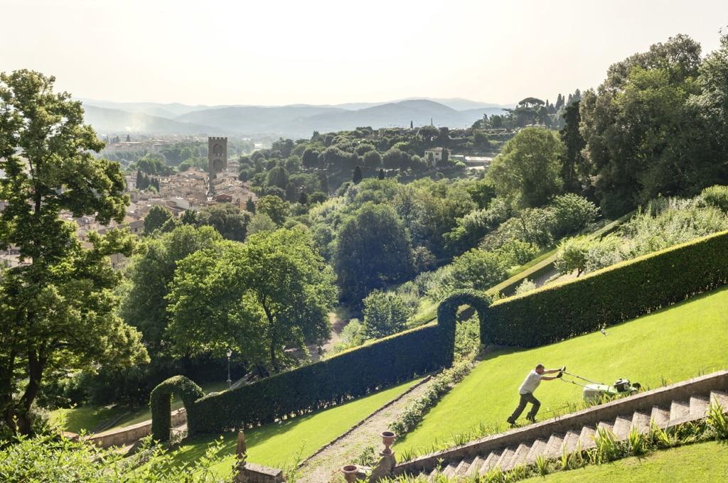 Il giardino Bardini visto da porta San Niccolò, l'11 giugno 2018. - Ilaria Di Biagio per Internazionale