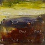 Abstrakte Kunst Acryl Bemalten Landschaft Stock Vektor Art Und Mehr Bilder Von Abstrakt Istock