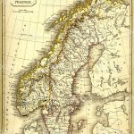 Antquie Map Of Sweden And Norway Stock Illustration Download Image Now Istock