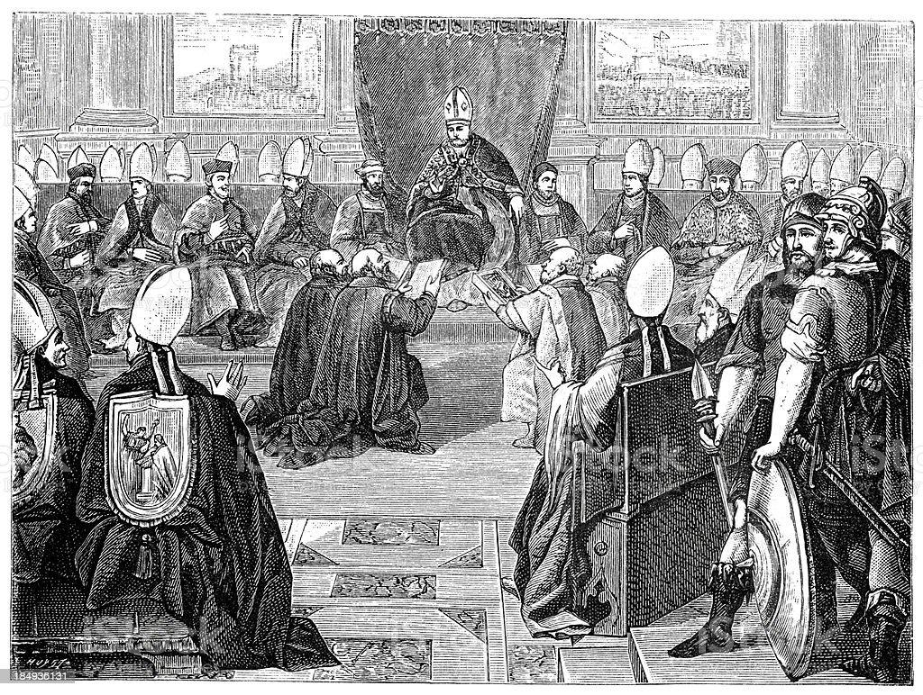 Best Knights Templar Illustrations, Royalty-Free Vector