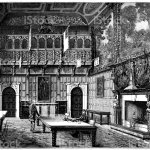 The Marble Hall At Hatfield House In Hatfield England 19th Century Stock Illustration Download Image Now Istock