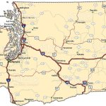 Washington Highway Map Stock Illustration Download Image Now Istock