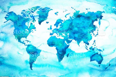 World map blue watercolor 4k pictures 4k pictures full hq watercolor world map etsy watercolor world map art print blue watercolor map adventure awaits home decor wall art cartography world map ocean blue gumiabroncs Images