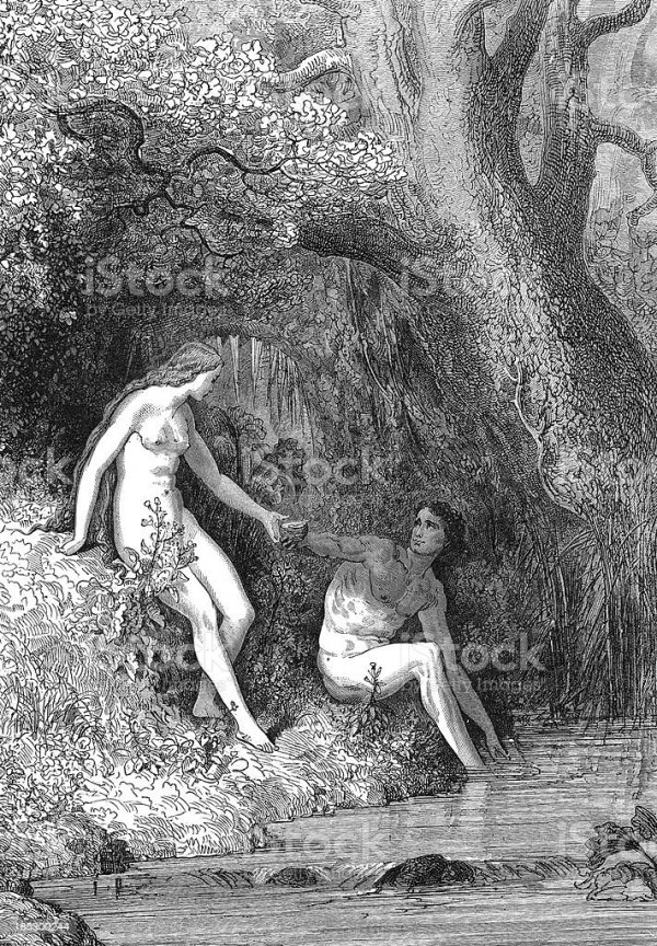 Adam And Eve Stock Photo - Download Image Now - iStock
