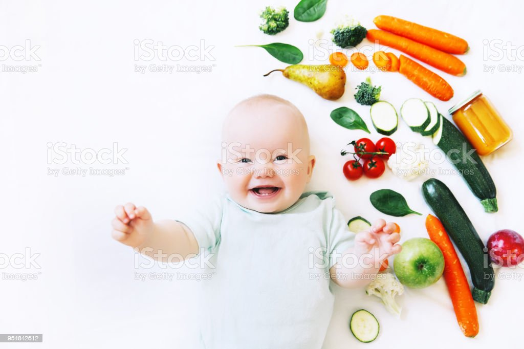 Fresh Food 8 Month Old Baby