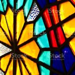 A Beautiful Stained Glass Window Inside A Church Stock Photo Download Image Now Istock