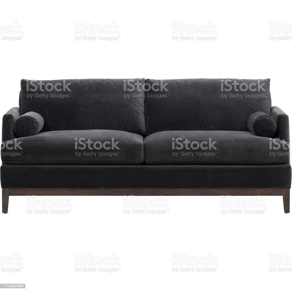 Best Choice Products Modern Faux Leather 2seat Modular Sofa With Sofabed Andrea Sofa Bed Black With White Background Stock Photo Download Image Now Istock