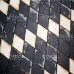 Black And White Checkered Marble Floor Pattern Stock Photo Download Image Now Istock