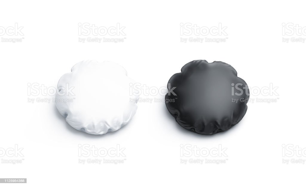 https www istockphoto com photo blank black and white round pillow mockup set isolated gm1125954388 296208235