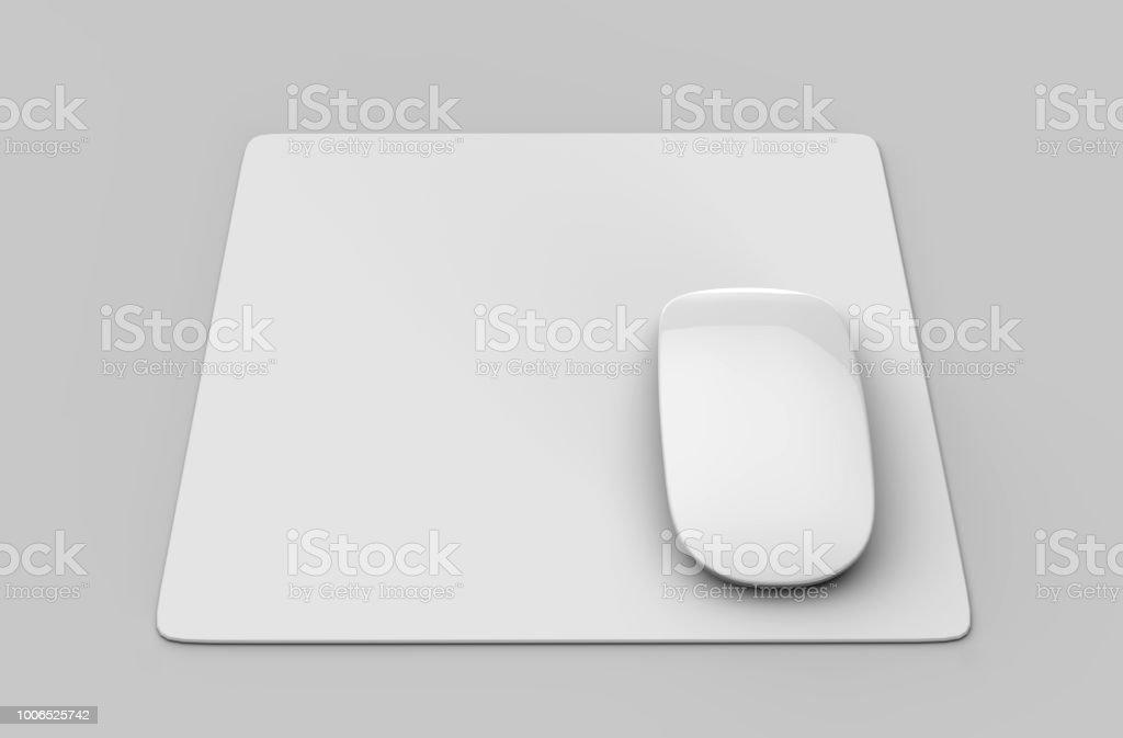 https www istockphoto com fr photo tapis de souris blanche avec la souris dordinateur pour la pr c3 a9sentation dimage de gm1006525742 271641991