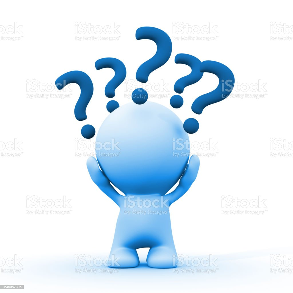 Best Question Mark Cartoon Stock Photos Pictures