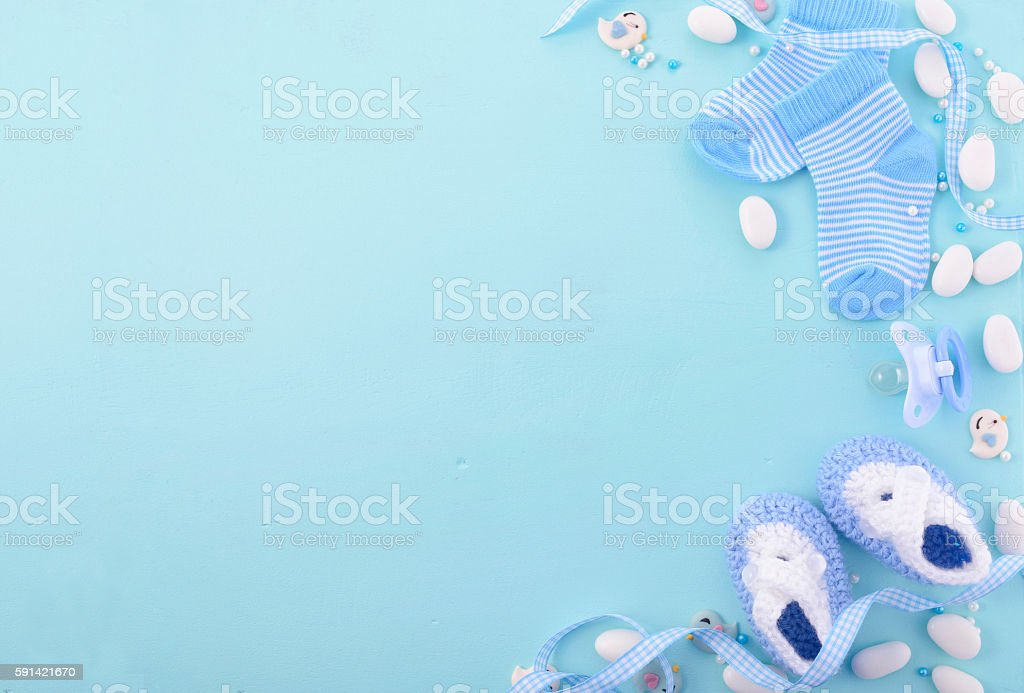 Blue Baptism Backgrounds Baby