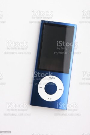 Blue Mp3 Player Apple Ipod Nano 5g Stock Photo   More Pictures of     Blue mp3 player Apple ipod nano 5g  royalty free stock photo
