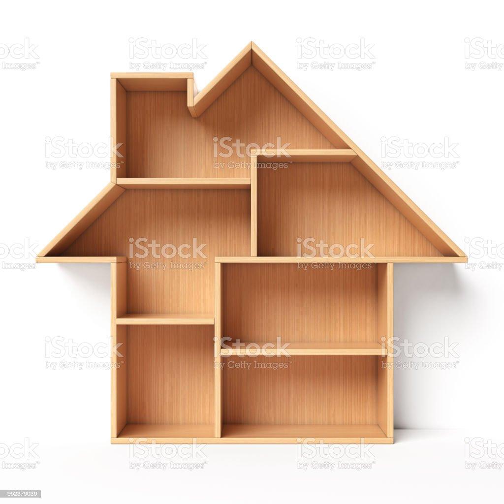 https www istockphoto com fr photo c3 a9tag c3 a8res en forme de concept pour rayon livre maison maison gm952379036 259997478