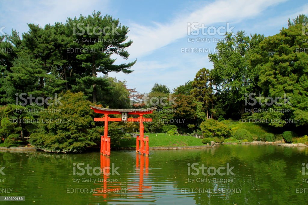 From annual events to permanent exhibits. Brooklyn Botanic Garden Japanese Hillandpond Garden Stock Photo Download Image Now Istock
