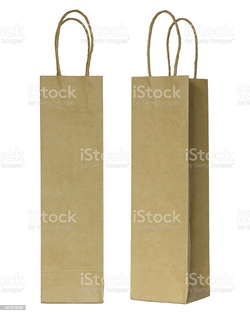 Wine bottle with a hang tag. 69 White Paper Bag For Wine Bottles Stock Photos Pictures Royalty Free Images Istock