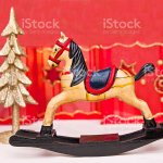 Christmas Rocking Horse Stock Photo Download Image Now Istock