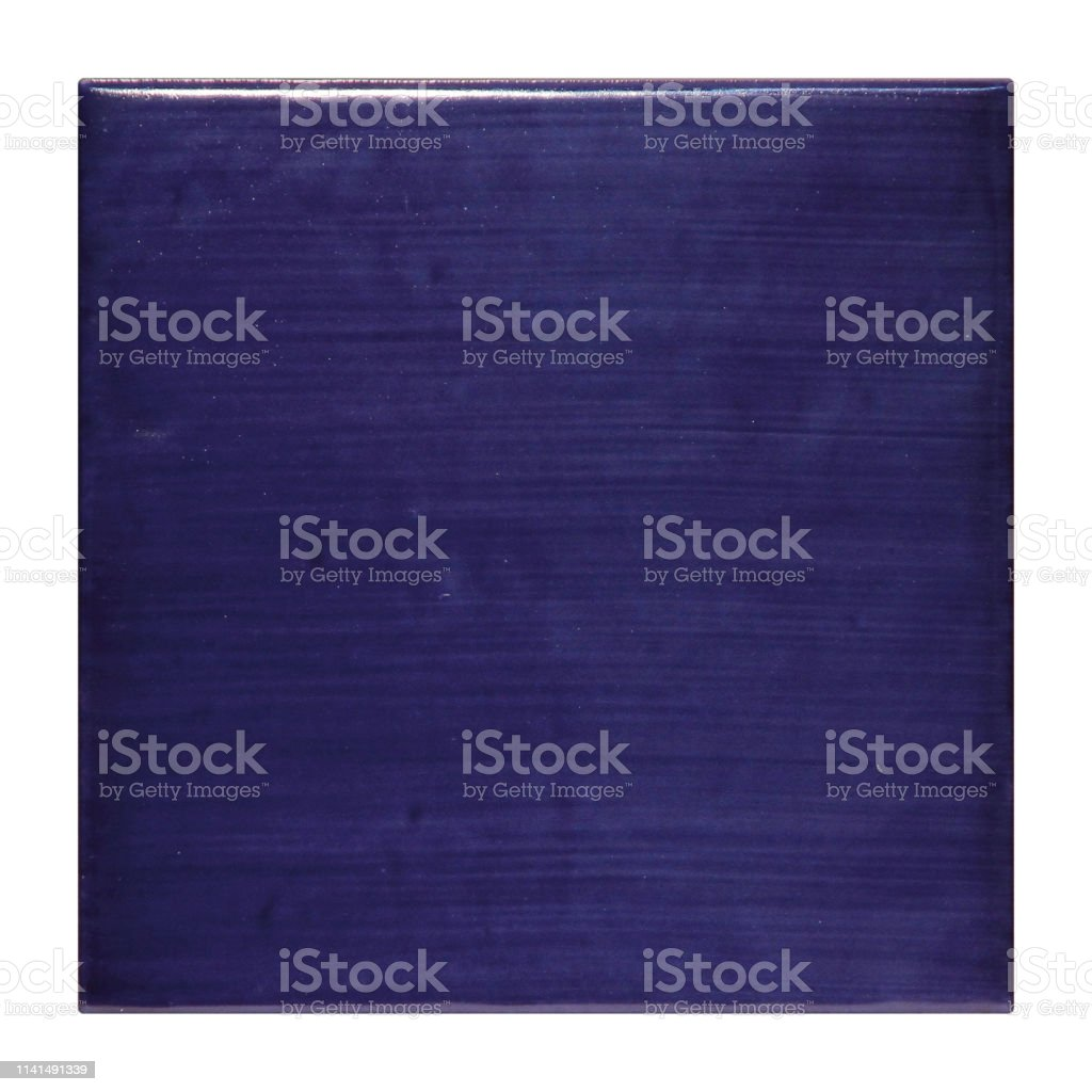 closeup single dark purple glossy ceramic tile isolated on white background purple ceramic tile texture background stock photo download image now istock