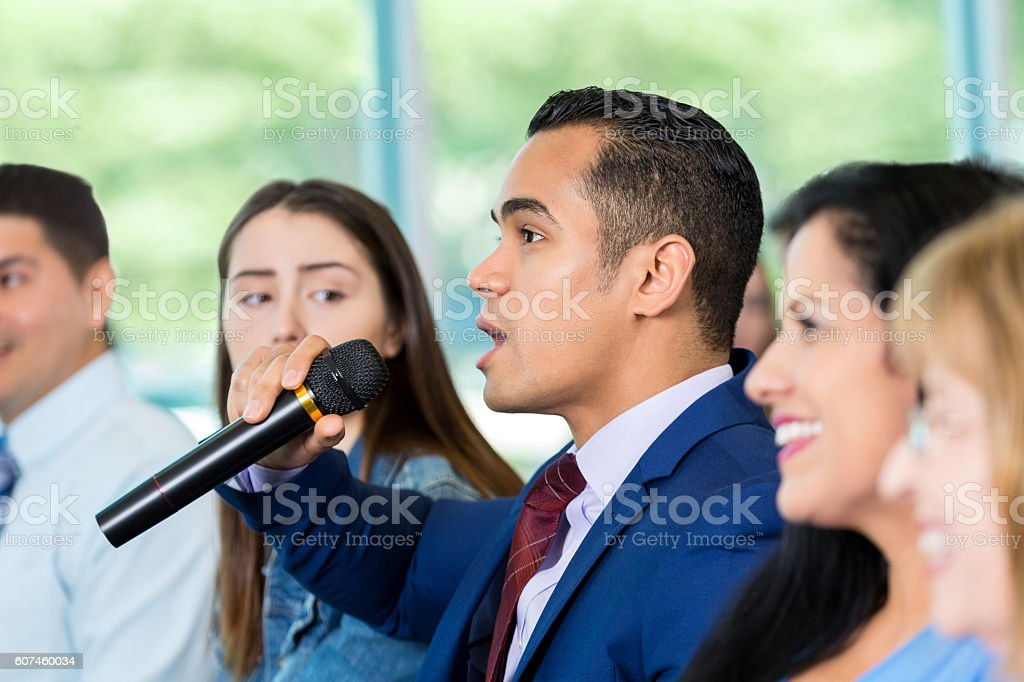 Royalty Free Town Hall Meeting Pictures, Images and Stock ...