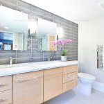 Contemporary Home Bathroom Vanity Sink And Toilet Stock Photo Download Image Now Istock