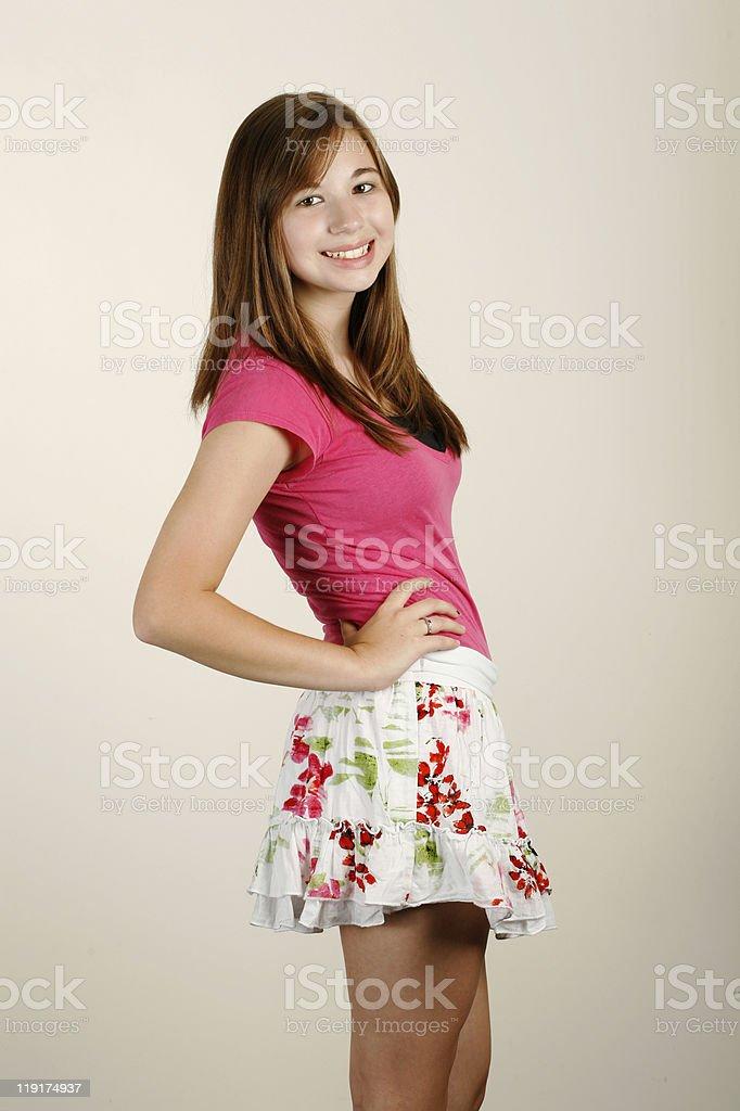 Cute Teen Girl Stock Photo & More Pictures of Beautiful ... on Small:zikqrscfop8= Teenage Girls  id=64941