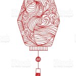 Drawing Chinese Lantern And Japanese Lantern Stock Photo Download Image Now Istock